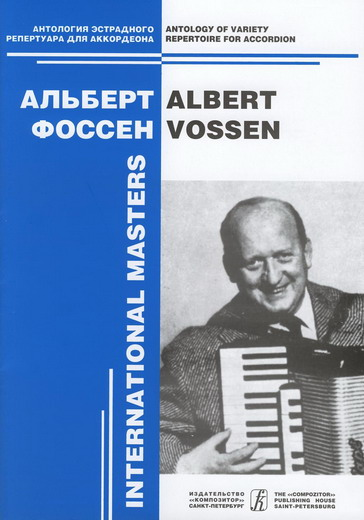Albert Vossen. Variety Compositions for  accordion solo. Vol. 2